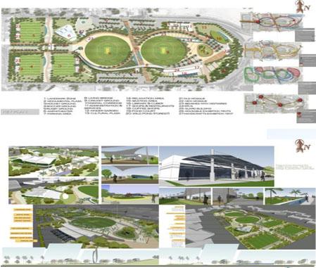 United engineering technical consultants kuwait for Garden design kuwait